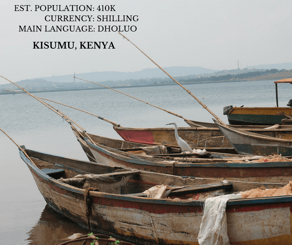Kisumu, Kenya: The City By The Lake